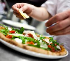 There are innumerable variations on pizza, a food that's popular worldwide.