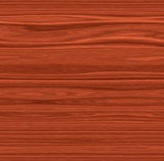 Cherry wood acquires a rich reddish brown tone as it ages.
