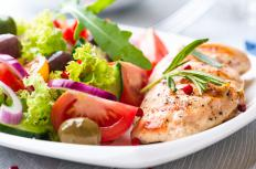 A healthy nutrition plan can help a person lose weight.