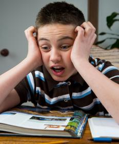 ADHD can cause attention issues in children.
