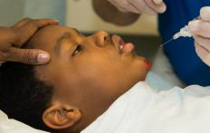 Children may be given a dissociative anesthetic prior to medical procedures to reduce their fears.