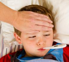 A fever may result from the MMR or DTP vaccinations.