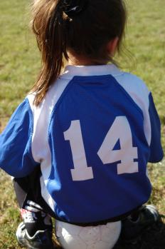 Coaches usually handle uniform duties in youth leagues.