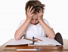 Fine and gross motor skill impairment makes writing difficult for children with nonverbal learning disorder.