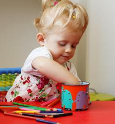 There are many different types of degrees and educational tracts related to child care.
