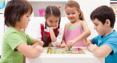 The board game Candy Land is often considered a rite of passage for preschoolers.