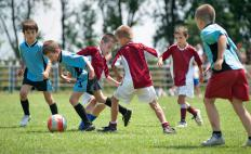 In some leagues, children will not be allowed to play without proper shin protectors.
