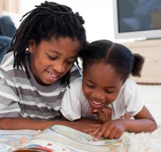 Some children are taught to recognized sight words when learning to read.