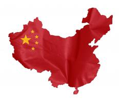 The People's Republic of China is often near the top of the list of countries with the most exports.