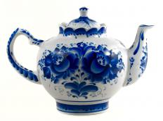 Porcelain was first made in China. The Chinese discovered that kaolin clay and petuntse combined made very sturdy pottery.
