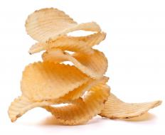 Sunflower oil is often used to create potato chips.