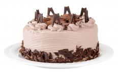 Chocolate cake can trigger a caffeine allergy.