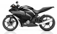 Motorcycle fairing is design to cut down on wind resistance.