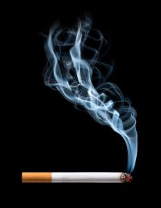 Smoking cigarettes increases the likelihood of snoring.