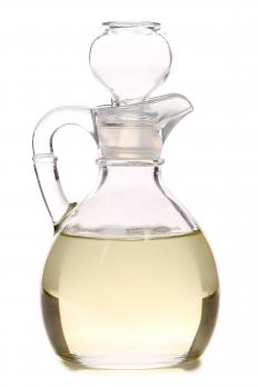 Colorless lamp oil.