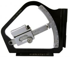 An inclinometer is an angle meter that measures slope in degrees, percent, and topo.
