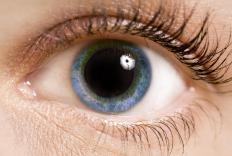 An antimuscarinic can be used to dilate a patient's pupils prior to an eye exam.