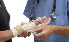 Wrist doctors may have backgrounds in orthopedics, plastic surgery, or general surgery.