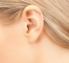 Ear infections may cause ear blisters.