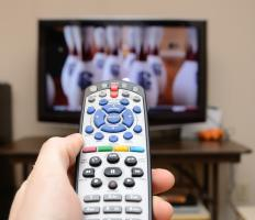 Some TV remotes are universal and can control multiple devices.