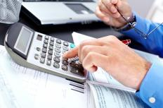 The amount of principal and interest owed on a line of credit is required to determine payment amounts.