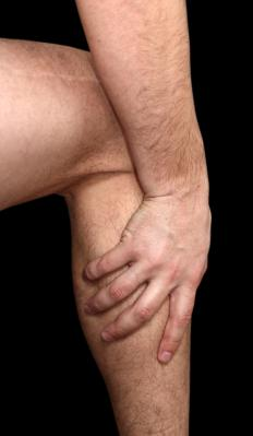 Sciatic pain is often felt at the back of the legs.