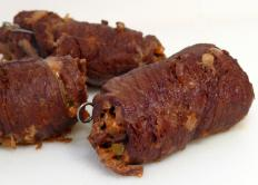 Beef is used to make rouladen.