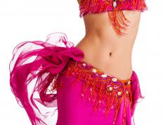 Zills are worn by belly dancers.