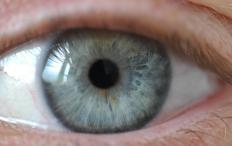 Normally, a person's pupils contract when light is bright.