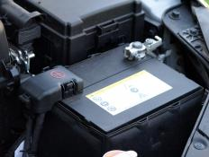 In a vehicle, the chassis ground point is typically close to the battery.