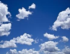 Geophysicists may study cloud formation to better understand weather patterns.