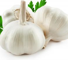 Garlic is a known antiseptic that can be eaten and applied topically.