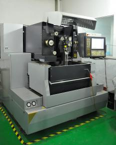 A CNC machine used by a machinist.