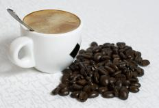 Limiting the amount of caffeinated foods and drinks, such as coffee, in your diet can reduce swelling.