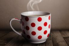 Teaching children not to touch mugs or cups will prevent burns.