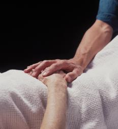 A confession made by a dying person is known as a deathbed confession.