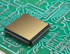 A nanochip may be a typical computer chip.