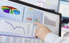 Comparative financial analysis looks at financial report data.