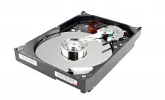 A hard drive is formatted into smaller portions referred to as partitions, otherwise known as logical disks.