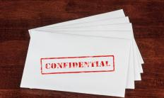 "The contents of a letter marked ""confidential"" should not be disclosed by its recipient."