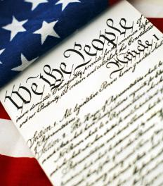 The U.S. Constitution recognizes natural rights based on divine principles.
