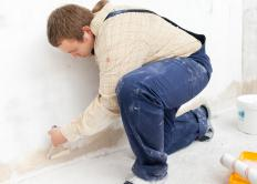 Drywall lifts allow one person to safely and easily build walls or ceilings.