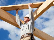 Entry-level laborers in the building industry may build homes.