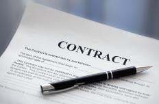 Proprietary rights are typically outlined in a contract before any work takes place.