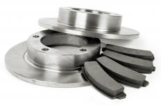 Friction makes brake drums and pads work together.
