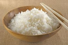 A bowl of rice.