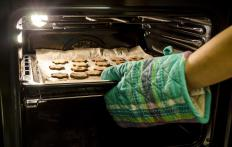A darker baking sheet will help to crisp items.