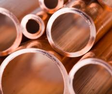 Copper pipes are safer than galvanized iron pipes for home plumbing.