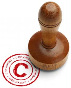 Copyrights are granted to the author or creator of an original work.