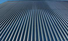 Powder coated might be used on the exterior of a building.